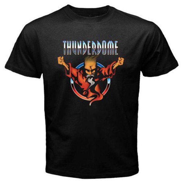 New Thunderdome The IDT wizard Logo Camiseta negra para hombre Talla S a 3XL Camisetas personalizadas de alta calidad con estampado personalizado Camisetas Hipster