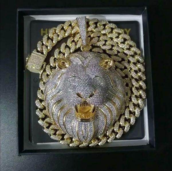 Pendentif chaîne d'or + 24inch lien