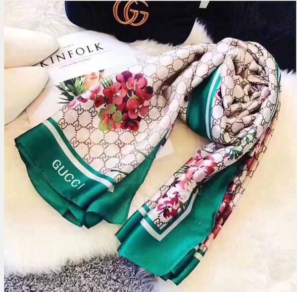 الفروع نمط الكورية الأوشحة الصغيرة الطازجة الرعوية للالعقعق المرأة الشتاء الجديدة وشاح شو l90X180CM 2 الألوان