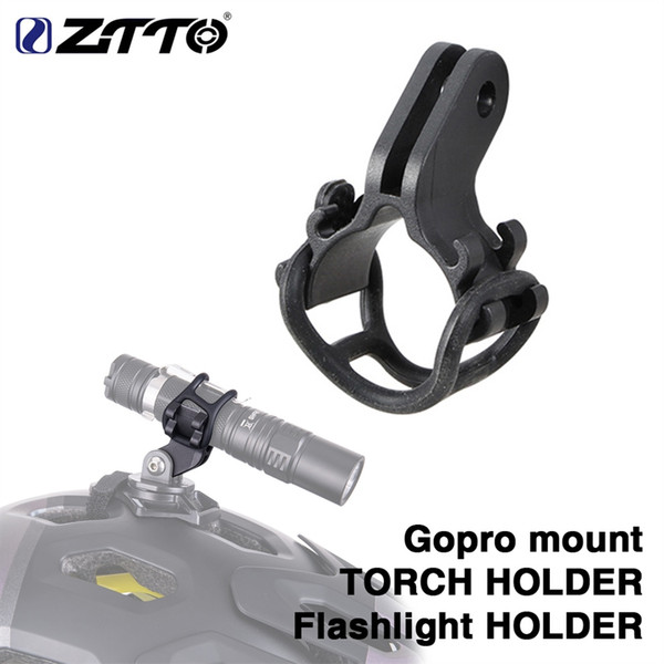 ZTTO Bicycle Light TORCH Holder Flashlight Bracket for Road Bike MTB bicycle parts adjusted for Gopro mount #646598