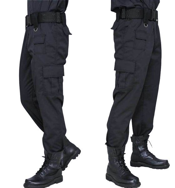 Cargo Pant Men Black Pants Style Casual Pantalones Thin Tactical Pants Security Duty Work Trouser Army Overalls