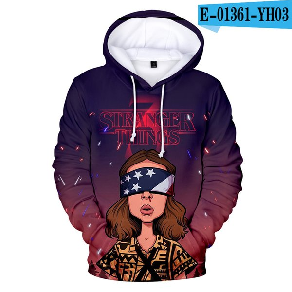 3D hoodie