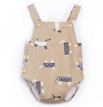 #1 Suspender Baby Rompers
