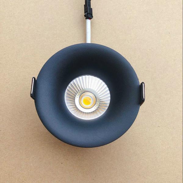 Lámpara empotrada LED de techo blanco cálido / blanco frío 7W Lámpara de techo AC110V AC220V 230V 240V Nuevo tipo Downlight