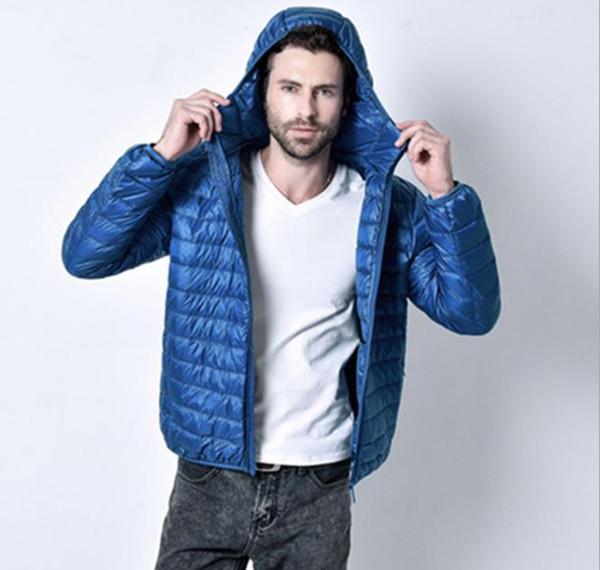 Mens Inverno solido di colore della tuta sportiva girocollo chiusura lampo di modo sottile con il cappello manica lunga Homme Abbigliamento