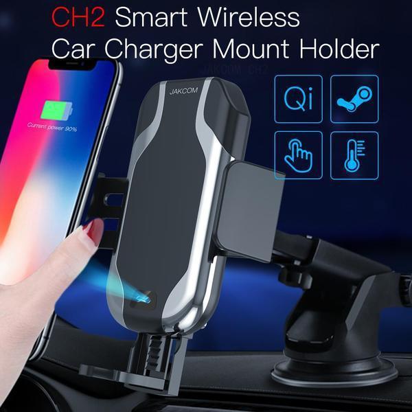 JAKCOM CH2 Smart Wireless Chargeur Voiture Support Vente Hot en SUSPENTES titulaires téléphone cellulaire comme la construction gadget lecteur mp3 innovant