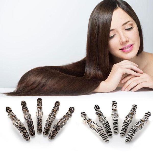 5 stücke / 10 teilesatz Haarfärbemittel Clips Salon Hair Colouring Sectioning Positionierung Haarnadeln Friseurbedarf Barber Zubehör