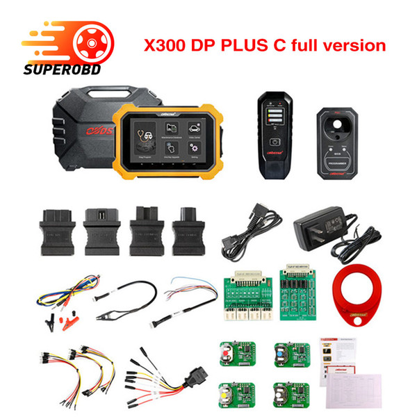 OBDSTAR X300 DP Plus X300 PAD2 C Package Full Version Support ECU Programming and for Toyota Smart Key with P001 Programmer