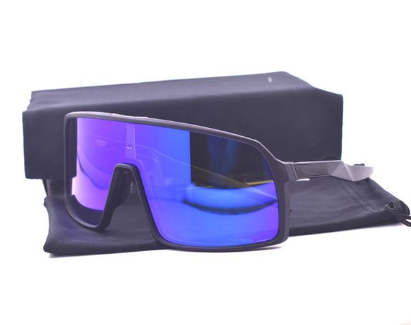 9406 siyah çerçeve mavi lens