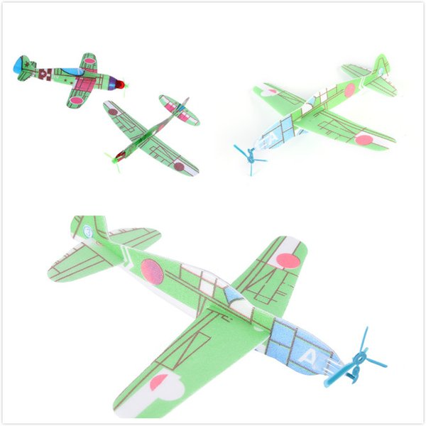 2019 One Or DIY Hand Throw Aircraft Flying Glider Toy Planes Airplane Foam  Plast Party Bag Fillers Children Kids Toys Game From Cornemiu, $33 4 |