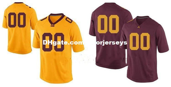 pretty nice 8b2b3 86854 2019 Cheap Custom Minnesota Golden Gophers College Jersey Mens Women Youth  Kids Personalized Any Number Of Any Name Stitched Football Jerseys From ...