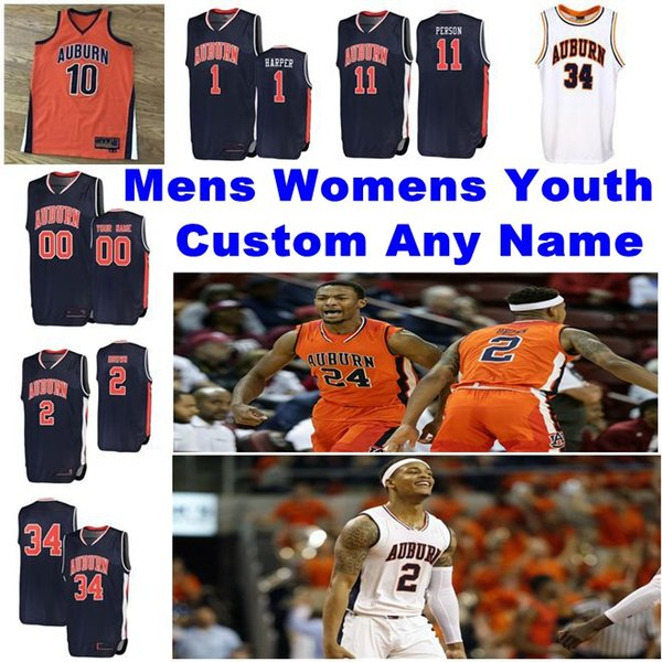 2019 Auburn Tigers Jerseys Babatunde Akingbola Jersey Berman Cambridge Thomas Collier Cook College Basketball Jerseys Mens Customize Stitched From