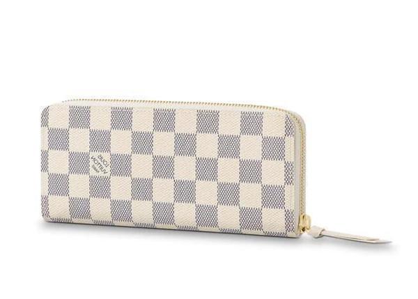 2019 Clemence Wallet N61210 Nuove collezioni di moda per donna Borse in pelle esotiche Borse iconiche Frizioni Portafogli da sera Borsa