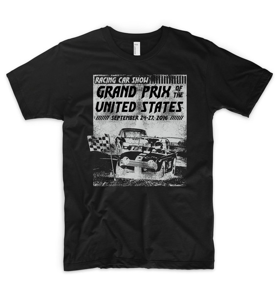 Grand Prix T-shirt USA NASCAR Salon de l'automobile Garage Top tee Moto GP Top tee Top tee Mercedes