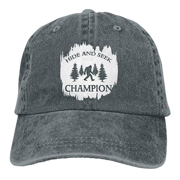 2019 nouveaux casquettes de baseball à bas prix casquette de baseball en coton sergé lavé mens cache-cache Champion Bigfoot Hat