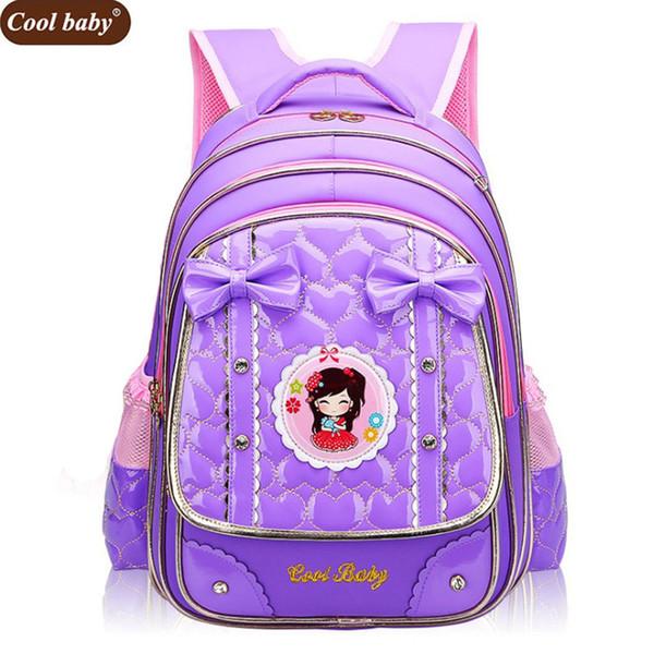 Cool Baby New School Bags for Girls Brand Children Backpack Cheap Shoulder Bag Fashion Wholesale Kids Backpacks D271