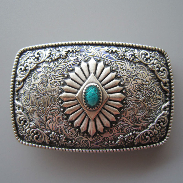 New Vintage Black Enamel Horse Horseshoe Oval Belt Buckle also Stock in US