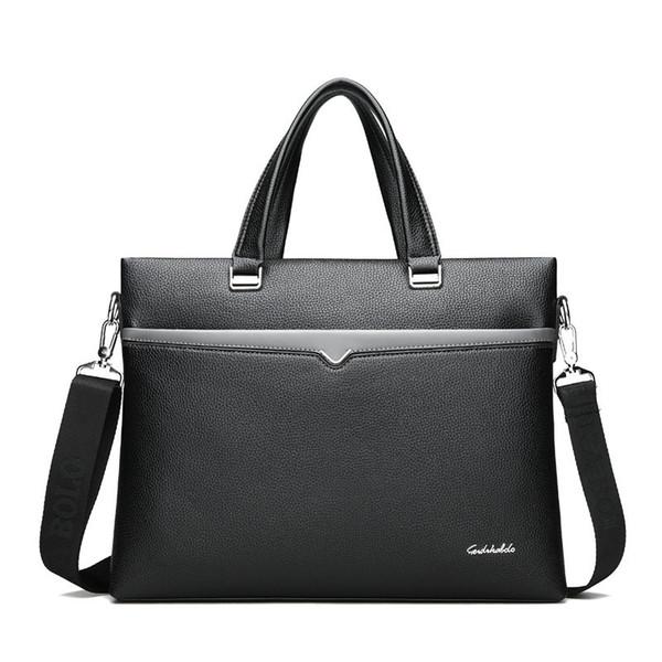 Male Embossed Classic Travel Shoulder Bag Luxury Laptop Bag Handbags Large Men Crossbody Men's Travel Leather Briefcase #171820