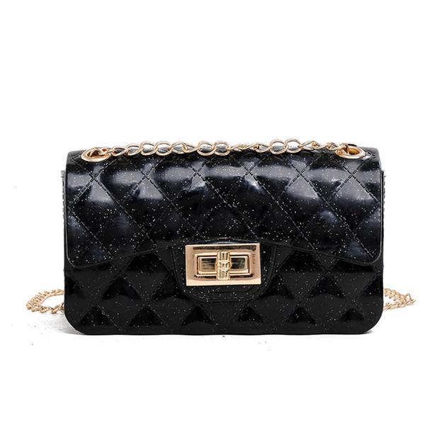 High quality classic chic chain shoulder bag luxury tote handbag designer handbag ladies chain rhombic fashion crossbody shoulder bag 5color