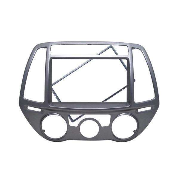 2Din Car Fascia für Hyundai I 20 Manuelles AC-Radio DVD-Stereo-GPS-Panel Dash-Mount-Trim-Kit Face-Plate-Blende
