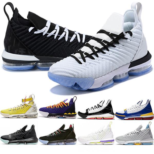 16 Hombres Zapatos de baloncesto 16s Igualdad HFR Martin Remix SuperBron Safari Reloj The Throne MPLS Mens Trainer Sport Sneaker Tamaño 40-46