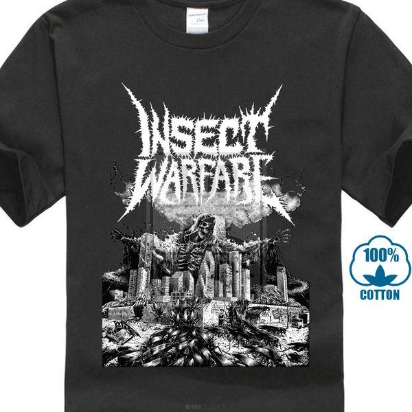 Böcek Savaş Dünya İmha T Gömlek S M L Xl 2xl Yepyeni Resmi Komik Yeni erkek Komik