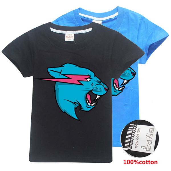 Senhor Besta crianças Camisetas Tees 100% Algodão 6-14 t Crianças Meninos T-shirt de Manga Curta Tops 120-160 cm crianças roupas de grife meninos SS340