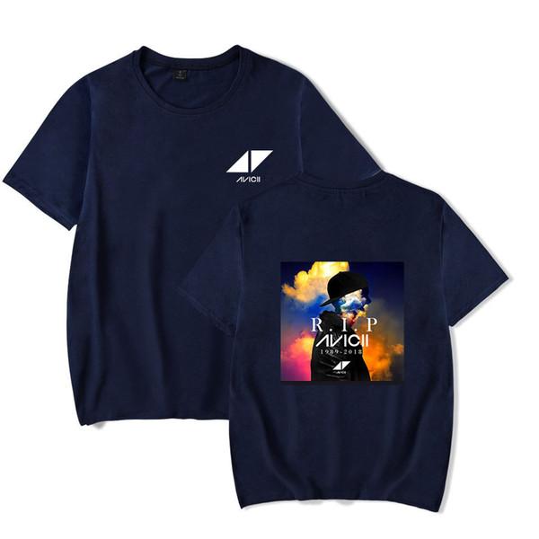 Fashion DJavicii Men T Shirts Hip Hop Streetwear Short Sleeve Black White T Shirt Plus Size S-4XL