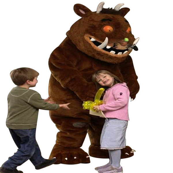 Adult Gruffalo Mascot costume For Sale Gruffalo Cartoon Costume for Halloween party event