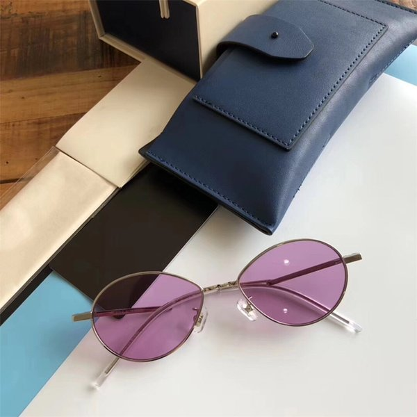 New Arrival Women Charming Sunglasses Trendy Designer Full Frame Oval Glasses High Quality UV Protection Brand Famous Eyewear with Package