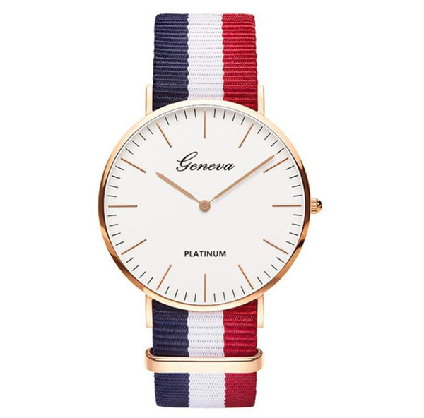New luxury watch male student fashion Korean version of the simple personality trend casual men's atmosphere Europe and the United States cr
