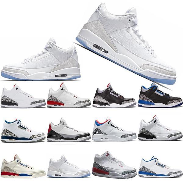 Free Shipping Men Basketball Shoes SEOUL Katrina Mocha Charity Game Pure White Infrared Fly Black III Sport Shoe Designer Sneakers 8-13