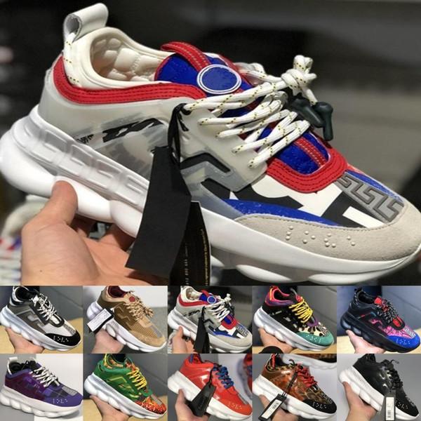 2019 цепная реакция Роскошные дизайнерские туфли Мужчины Женщины кроссовки Снежны