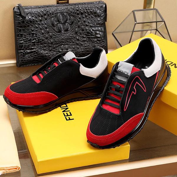 Lightweight Scuba Low Top Sneakers Men Shoes Fashion Herren Luxus Marken Schuhe Outdoor Walking Footwears Lace Up Plus Size Casual Men Sheos White