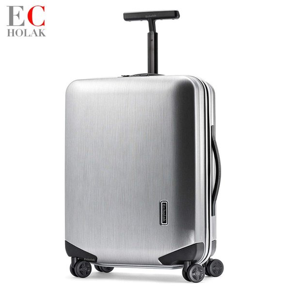 ПК чемодан прокатки багажа легкий нести на Spinner колесо путешествия TSA замок женщины мужчины 20 24 28 дюймов