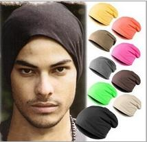 Popular Designer Plain Hip Hop Slouchy Knitted Beanies Hats For Adults Mens Womens Skull Head Warmer Hair Chemo Bonnet Black Red Solid Color