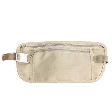 Travel Security Money Ticket Passport Holder Waist Belt Pouch Bag Belt Chest Bag Security Waistpacks Party Favor CCA11048 300pcs
