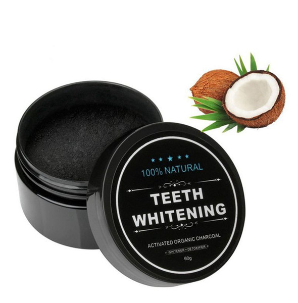 best selling 30g Teeth Oral Care Powder Activated Coconut Charcoal Natural Hygiene Dental black Tooth Care Powder KKA7927