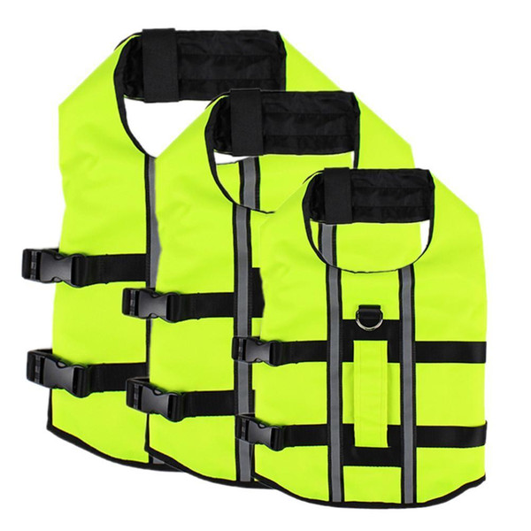 New Arrival Dog Airbag Life Jacket Inflatable Collapsible Dogs Outdoor Portable Pet Saver Life Vest Swimming Preserver Swimwear