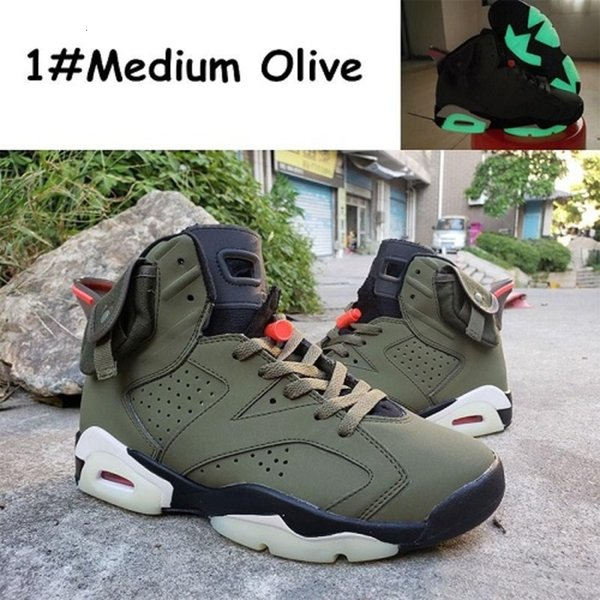 Travis Scotts Medium Olive