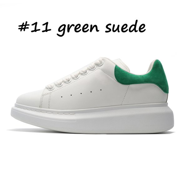 11 en daim vert