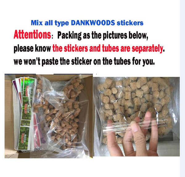 with Dankwoods stickers(9flavors)