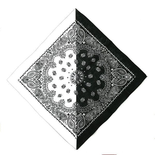 black white bandana