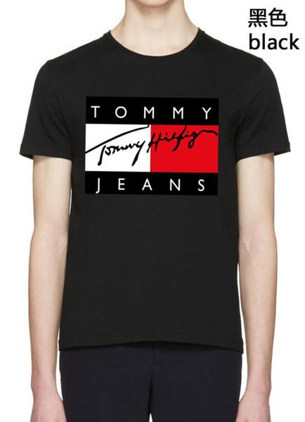 Sıcak 2019 yeni erkek marka T gömlek saf pamuk kaliteli malzeme mikro elastik ücretsiz kargo