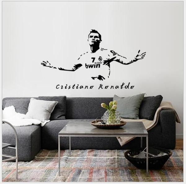 Großhandel Tapete Dekoration Von Ronaldo Real Madrid Fußball Wettbewerb  Schlafzimmer Tapete Dekoration Schlafzimmer Wand Wandaufkleber Von ...