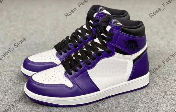 1s white court purple