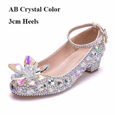 AB cristal 3 centímetros Heels