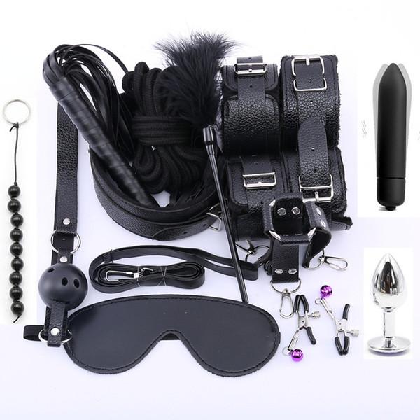 9leather 13pcs black