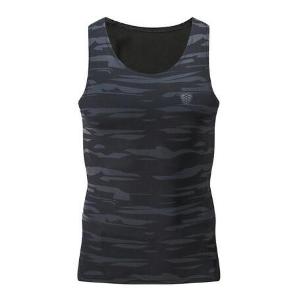 Arbeiten Sie die asiatischen M-4XL Männer um, die Kompressions-Trägershirt-Weste-Turnhallen-T-Shirts Eignungs-ärmellose T-Shirts laufen lassen Sportkleidung-rüttelnde Weste