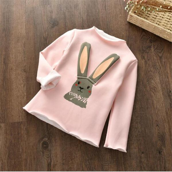 good quality autumn fashion girls hoodies cartoon warm fleece sport sweatshirt for kids casual pullover outwear girls sweater coat